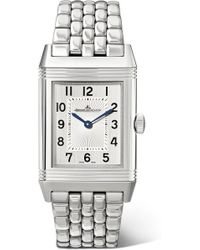 Jaeger-lecoultre - Reverso Classic Medium Thin 24.4mm Stainless Steel Watch - Lyst