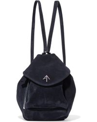MANU Atelier | Fernweh Mini Suede Backpack | Lyst