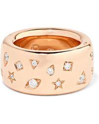 Pomellato - 18-karat Rose Gold Diamond Ring Rose Gold 15 - Lyst
