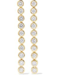 Jennifer Meyer - 18-karat Gold Diamond Earrings - Lyst