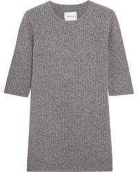 Georgia Alice - Freeway Ribbed Wool And Cashmere-blend Top - Lyst