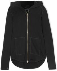ATM - French Cotton-terry Hoodie - Lyst