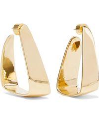 Jennifer Fisher - Hammock Gold-plated Earrings - Lyst