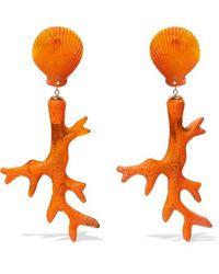 Dinosaur Designs - Coral Branch Resin Earrings - Lyst