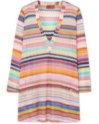Missoni - Mare Crochet-knit Kaftan - Lyst