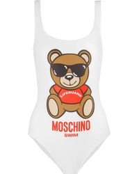 Moschino - Printed Swimsuit - Lyst