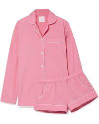 Three J Nyc - Pyjama En Popeline De Coton Josephine - Lyst