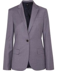 Theory - Staple Wool Blazer - Lyst