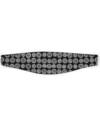 Saint Laurent - Embellished Silk Waist Belt - Lyst