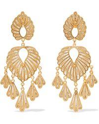 Mallarino - Irene Gold Vermeil Earrings - Lyst