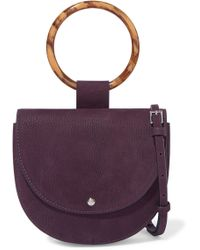 Theory - Whitney Small Nubuck Shoulder Bag - Lyst