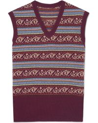 James Purdey & Sons - Fair Isle Wool Sweater - Lyst