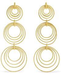 Buccellati | Hawaii Waikiki 18-karat Gold Earrings | Lyst
