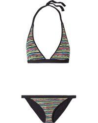 Missoni - Mare Crochet-knit Triangle Bikini - Lyst