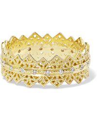 Grace Lee - Eternity Lace 14-karat Gold Diamond Ring Gold 6 - Lyst