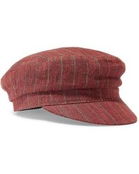 407e1a02 Isabel Marant - Evie Striped Linen Cap - Lyst. Isabel Marant - Striped  Linen Captain's Hat ...