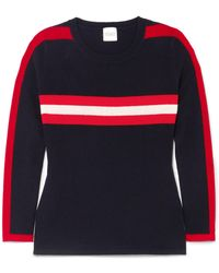 Madeleine Thompson - Andrea Striped Cashmere Jumper - Lyst
