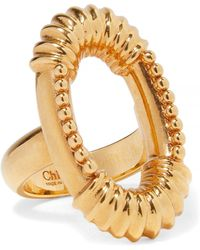 Chloé - Exclusive Gold-tone Ring - Lyst