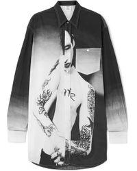 Vetements - Marilyn Manson Cotton Shirt - Lyst