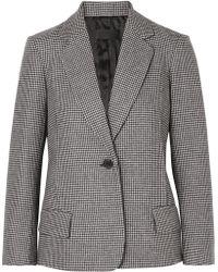 Nili Lotan - Humphrey Houndstooth Wool-blend Blazer - Lyst