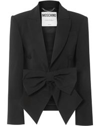 b57c9e39c5 Lyst - Women's Moschino Blazers and suit jackets On Sale