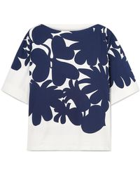 Marni - Floral Short-sleeve T-shirt - Lyst