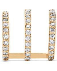 Beaufille | Ringlet 10-karat Gold Diamond Earring | Lyst