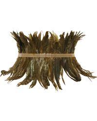 Rosantica - Selva Gold-tone Feather Waist Belt - Lyst