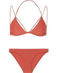 Dion Lee - Fine Line Triangle Bikini - Lyst