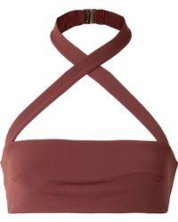 F E L L A. - Roy Halterneck Bikini Top - Lyst