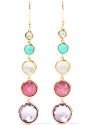 Ippolita - Lollipop Lollitini 18-karat Gold Multi-stone Earrings Gold One Size - Lyst