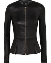 The Row - Anasta Leather Jacket - Lyst