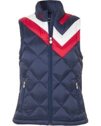 Perfect Moment - Vale Quilted Down Vest - Lyst