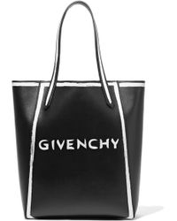 Givenchy - Stargate Printed Leather Tote - Lyst