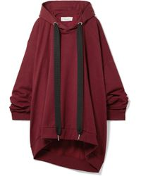 Marques'Almeida - Asymmetric Oversized Cotton-jersey Hooded Top - Lyst