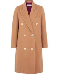 Golden Goose Deluxe Brand - Nina Double-breasted Textured-wool Coat - Lyst