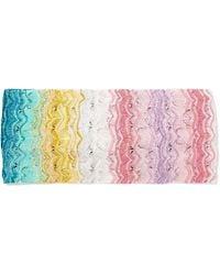 Missoni - Mare Metallic Crochet-knit Headband - Lyst