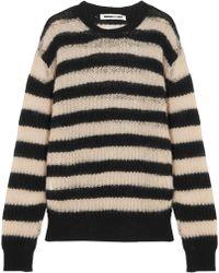 McQ - Striped Wool-blend Jumper - Lyst