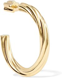 Maria Black - Arsiia Gold-plated Hoop Earring - Lyst