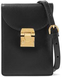 Mark Cross - Josephine Textured-leather Shoulder Bag - Lyst