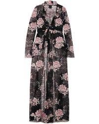 Anna Sui - Floral-print Lace Jacket - Lyst