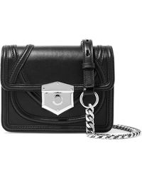 Alexander McQueen - Wicca Leather Shoulder Bag - Lyst