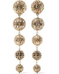Rosantica - Innocenza Gold-tone Clip Earrings - Lyst