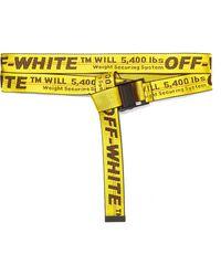 Off-White c/o Virgil Abloh - Canvas-jacquard Belt - Lyst