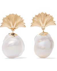 Meadowlark - Vita 9-karat Gold Pearl Earrings - Lyst
