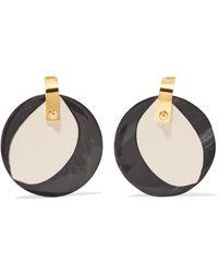 Marni Resin Earrings in Metallics 7WwozKn