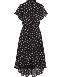 Madewell - Natasha Printed Chiffon Dress - Lyst