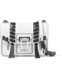 Proenza Schouler - Hava Mini Whipstitched Leather Shoulder Bag - Lyst