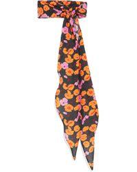 Magda Butrym - Hubei Floral-print Silk-crepe Scarf - Lyst