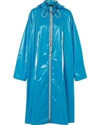 CALVIN KLEIN 205W39NYC - Oversized Coated-shell Jacket - Lyst